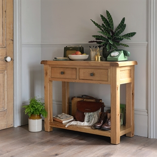 Cambridge Oak Hallway Furniture Collections