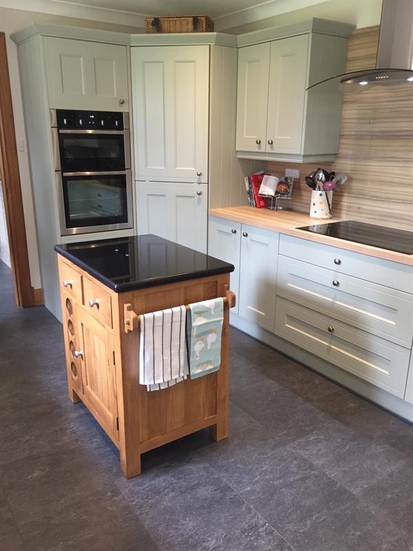 Kitchen Furniture Company: Cotswold Kitchen Granite Top Kitchen Island