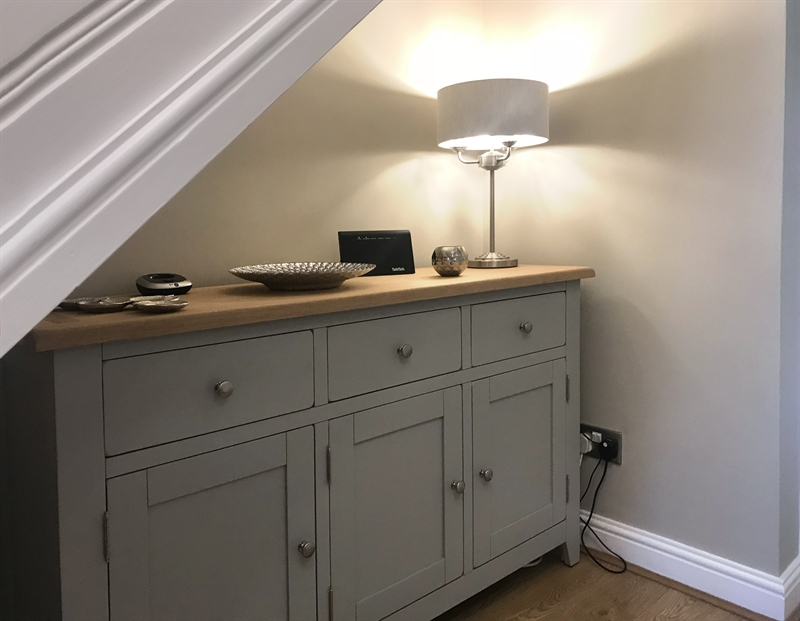 Chester Grey 3 Door Sideboard The Cotswold Company