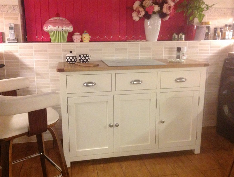 Sussex Painted Large Sideboard The Cotswold Company