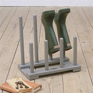 Welly Boot Rack - Grey