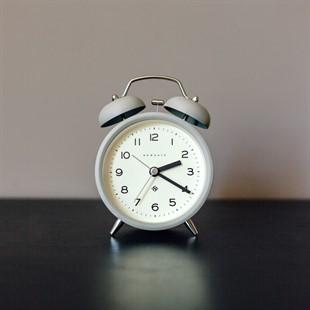 Newgate Echo Alarm Clock - Grey