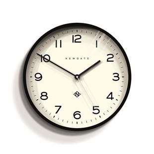 Newgate Echo Number Three Black Wall Clock