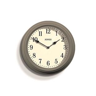 Jones Venetian wall clock mole grey