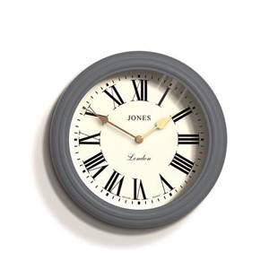 Jones Venetian Roman Numeral Wall Clock Blue