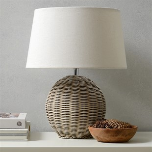 Rattan Medium Table Lamp