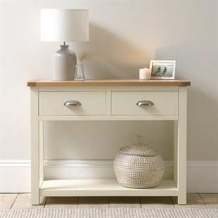 Sussex Cotswold Cream Console Table