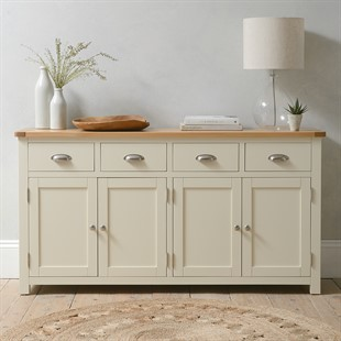 Sussex Cotswold Cream Extra Large Sideboard