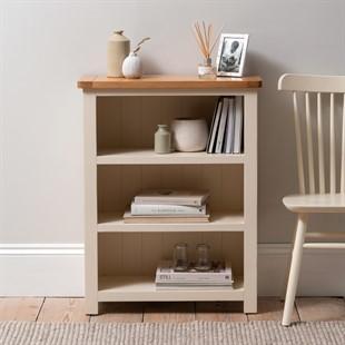 Sussex Cotswold Cream Small Bookcase