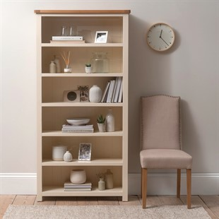 Sussex Cotswold Cream Large Bookcase
