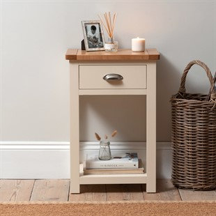 Sussex Cotswold Cream Telephone Table