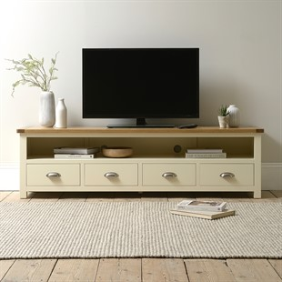 Sussex Cotswold Cream Extra Large TV Stand - Up to 80''