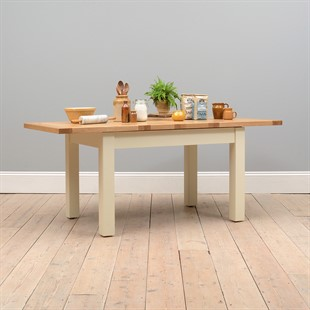 Sussex Cotswold Cream 132-162-192cm Extending Table