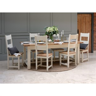 Sussex Cotswold Cream 220-265-310cm Extending Table