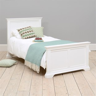 Chantilly Warm White 3ft Single Bed