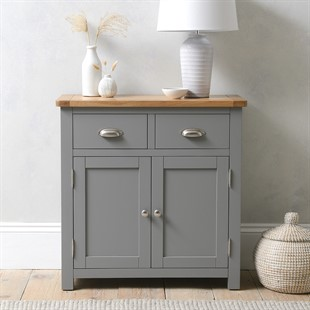 Sussex Storm Grey Small Sideboard