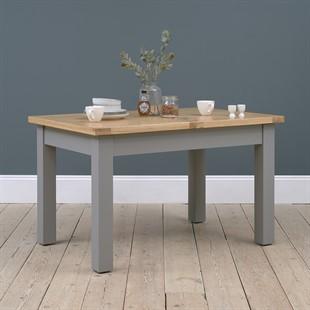 Sussex Storm Grey 132-162-192cm Extending Table