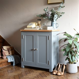 Sussex Storm Grey Small Cupboard