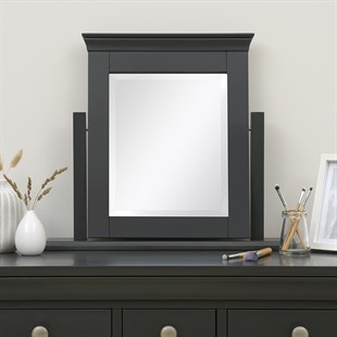Chantilly Dusky Black NEW Dressing Table Mirror