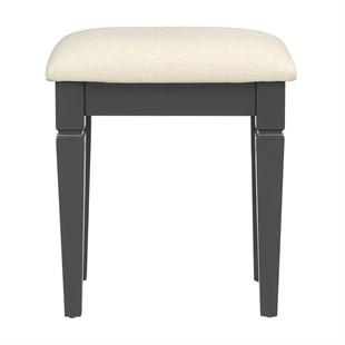 Chantilly Dusky Black NEW Dressing Table Stool