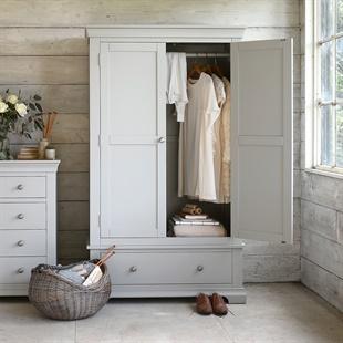 Chantilly Pebble Grey Gents Wardrobe