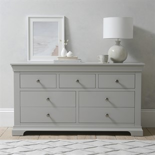 Chantilly Pebble Grey 3 Over 4 Chest