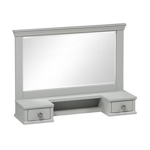 Chantilly Pebble Grey Vanity Mirror