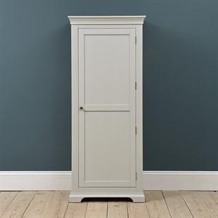 Chantilly Pebble Grey Single Wardrobe