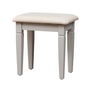 Chantilly Pebble Grey NEW Dressing Table Stool