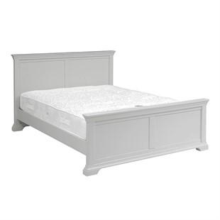 Chantilly Pebble Grey 5ft Kingsize Bed