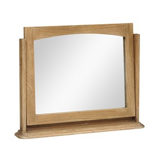 Wickham Washed Oak Dressing Table Mirror