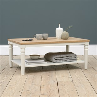 Marlow Pale Grey Coffee Table
