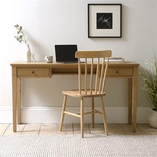 Elkstone Oak Writing Desk
