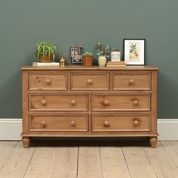 Chest Of Drawers.Hamilton Pinelow And Wide Chest