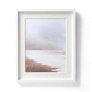 Harriet Peachey Lines In The Sand IV Wall Art (42x52cm)