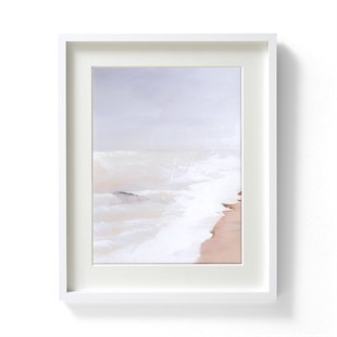 Harriet Peachey Lines in The Sand I Wall Art (42x52cm)