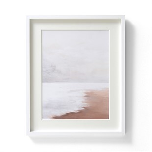 Harriet Peachey Lines in The Sand V Wall Art (42x52cm)
