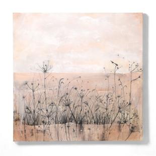 Harriet Peachey Coastal Botanics VII Canvas wall art (90x90cm)