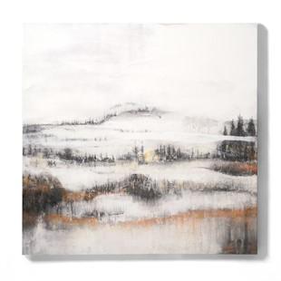 Harriet Peachey Nordic Study I Canvas wall art (90x90cm)