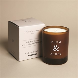 Plum and Ashby Candle - Seaweed and Samphire