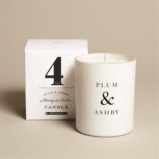 Plum and Ashby Candle - Honey and Amber