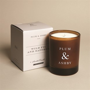 Plum and Ashby Candle - Wild Fig and Saffron