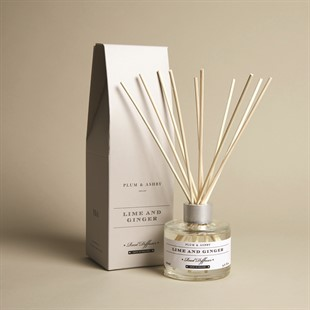 Plum and Ashby Diffuser - Lime and Ginger