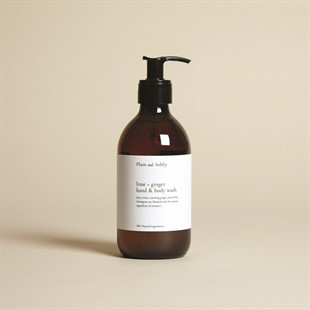 Plum and Ashby Hand and Body Wash - Lime and Ginger