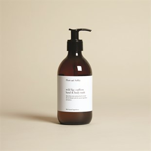 Plum and Ashby Hand and Body Wash - Wild Fig and Saffron