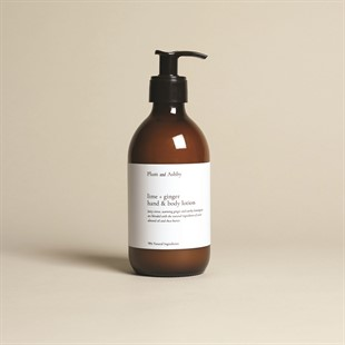 Plum and Ashby Hand and Body Lotion - Lime and Ginger