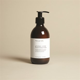 Plum and Ashby Hand and Body Lotion - Geranium and Orange