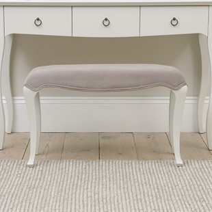 Wilmslow Pale Grey NEW Dressing Table Stool