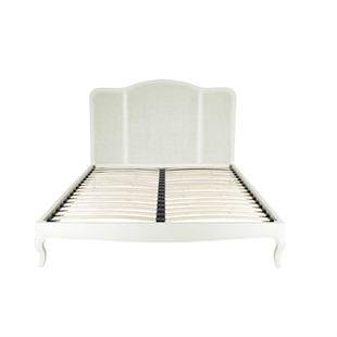 Wilmslow Pale Grey Rattan 6ft Super King Bed