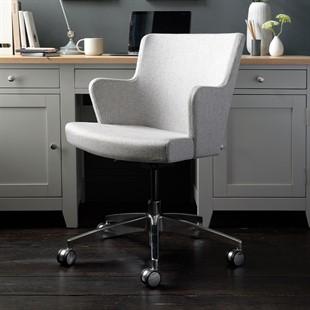 Blockley Office Armchair with Castors